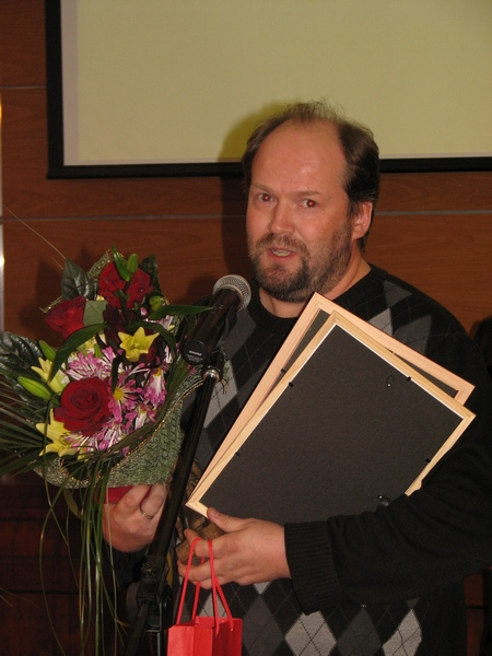 "М.А. Калих, лауреат Премии в номинации ""Право и СМИ"""