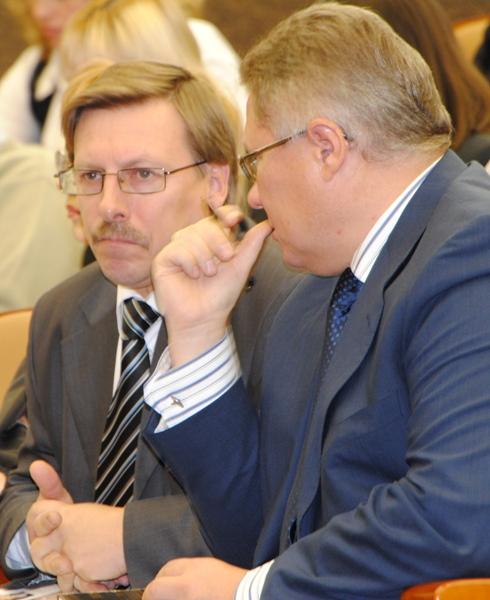 В.Н. Фофанов и В.А. Белов