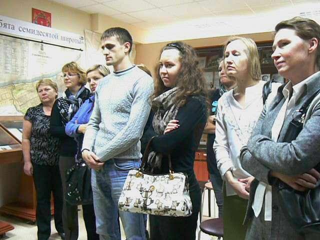 посещение музея сотрудниками Управления Росреестра