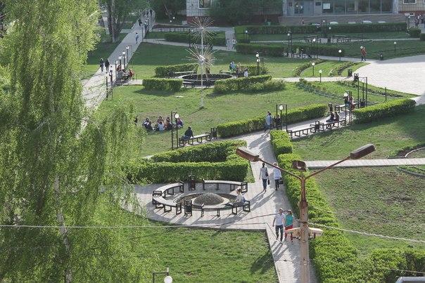 Сквер ПГНИУ