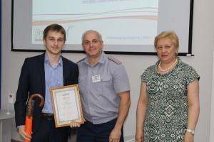 3-место Юристы. С.Е. Клещев, М.В. Мезенина